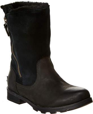 Sorel Emelie Fold-Over Waterproof Suede Boot