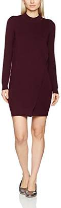 Jaeger Women's Layered Knitted Dress,(Size:M)