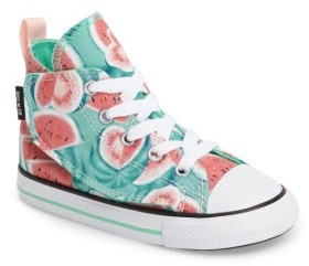 Infant Girl's Converse Chuck Taylor All Star 'Simple Step' High Top Sneaker $39.95 thestylecure.com