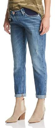7 For All Mankind Maternity Josefina Boyfriend Jeans in Blue