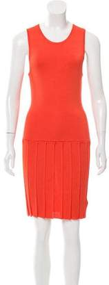 Opening Ceremony Pleat Knee-Length Dress w/ Tags