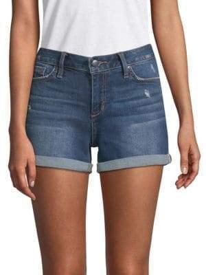 Joe's Jeans Hailey Distressed Denim Shorts