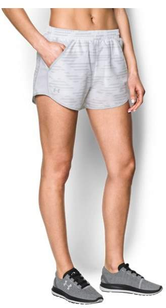 Women's UA Printed Fly-By Shorts