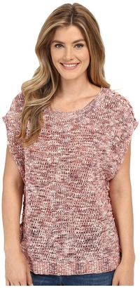 Lucky Brand Marled Pullover $89.50 thestylecure.com