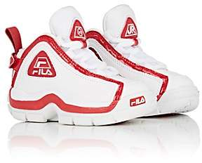 Fila Haus of JR x Kids' Leather Sneakers-White
