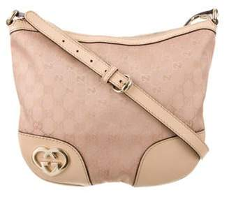 Gucci Small GG Canvas Lovely Messenger Bag Pink Small GG Canvas Lovely Messenger Bag