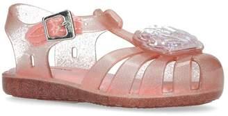 Mini Melissa Aranha Shell Jelly Sandals