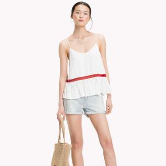Tommy Hilfiger Embroidered Chiffon Camisole