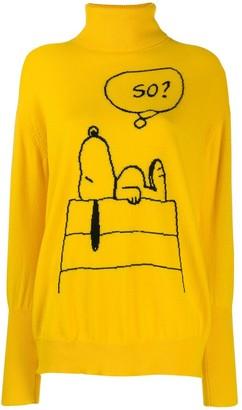 Parker Chinti & Snoopy print jumper
