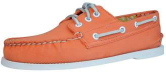 Sperry Top Sider A/O 3 Eye Canvas Mens Boat / Deck Shoes