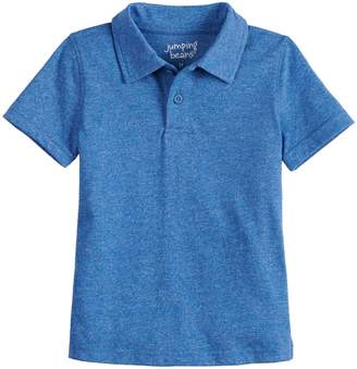 0efb727def8d5 Toddler Boy Jumping Beans Solid Polo