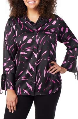 Wilson Rebel X Angels Tie Sleeve Print Shirt