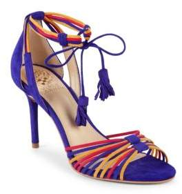 Vince Camuto Stellima Suede Ankle-Strap Sandals