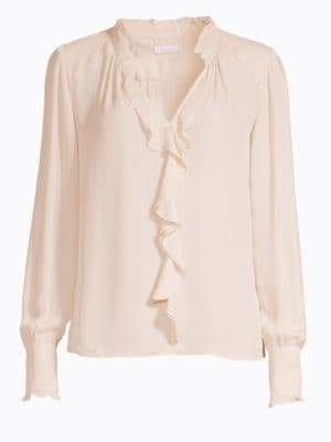 Parker Tilly Cascading Ruffle Blouse