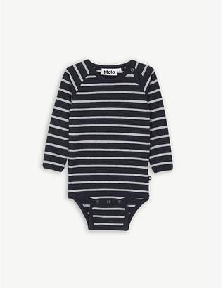 Molo Striped cotton bodysuit 3-12 months