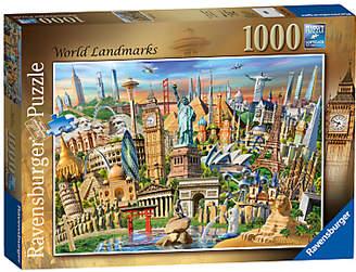 Ravensburger World Landmarks Jigsaw Puzzle, 1000 Pieces