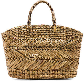 ellen & james Corfu Beach Basket Bag
