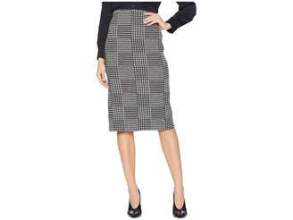 Lauren Ralph Lauren Glen Plaid Wool Pencil Skirt