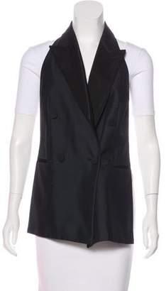 Stella McCartney Open Back Peak-Lapel Vest
