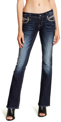 Rock Revival Faded Boot Cut Jean $179 thestylecure.com