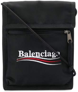 Balenciaga political slogan pouch