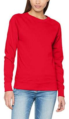 Fruit of the Loom Women's Lightweight Raglan Sweat Lady-Fit Sweatshirt
