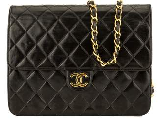Chanel Black Quilted Lambskin Chain Clutch (3951009)