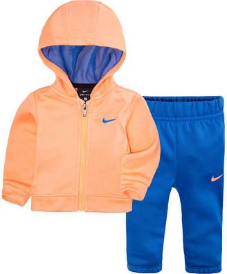Nike Infant 2-pc. Logo Pant Set Baby Girls