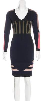 Jonathan Simkhai Printed Bodycon Dress
