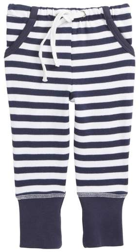 Stripe Organic Cotton Jogger Pants