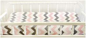 My Baby Sam Chevron Baby in Changing Pad Cover