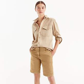 "J.Crew 10"" Bermuda Stretch Chino Short"