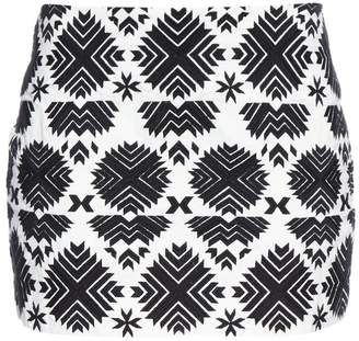 Figue Rikka embroidered cotton skirt
