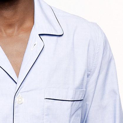 J.Crew Classic cotton poplin pajama set