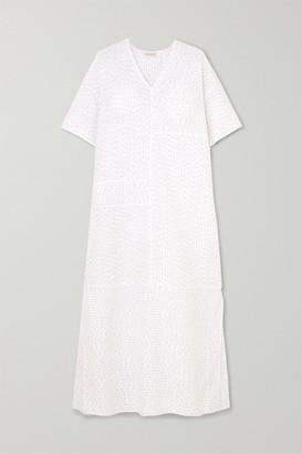 By Malene Birger Parma Cotton-blend Maxi Dress - White
