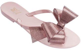 c3b7bbdd715d3 Mini Melissa Mel Harmonic Bow Thong Sandal
