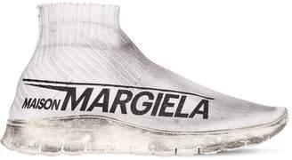 Maison Margiela Vintage Sock Runner Nylon Knit Sneakers
