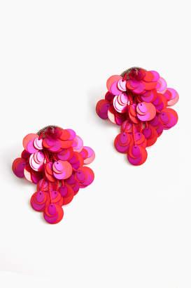 Suzanna Dai Curitiba Paillette Earrings