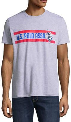 U.S. Polo Assn. USPA Short Sleeve Logo Graphic T-Shirt