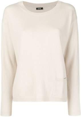 Aspesi cashmere fine knit sweater