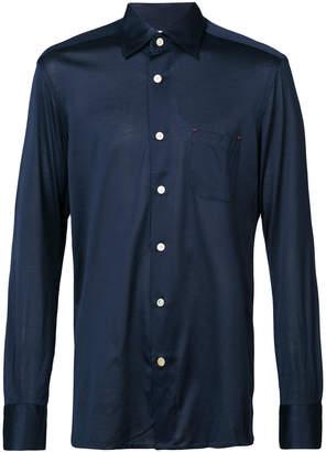 Kiton classic long sleeved shirt