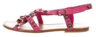 Zadig & Voltaire Stud-Embellished Ankle Strap Sandals