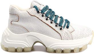 Miu Miu Lace Up Shoe T.75