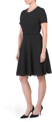 Stretch Tweed Dress