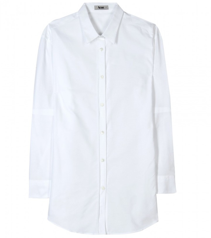Acne WORTH OXFORD BUTTON-DOWN SHIRT