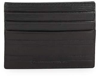 John Varvatos Men's Clawed Textured Leather Card Case