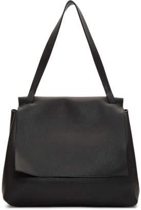 The Row Black Sidekick Two Bag