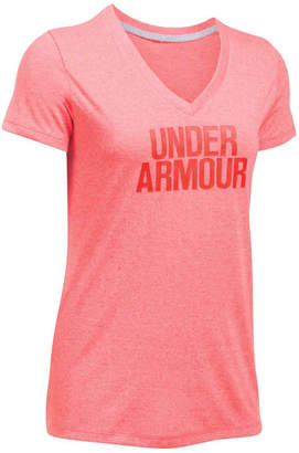 Under Armour Womens Threadborne Wordmark Training Tee