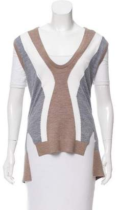 Tome Wool Colorblock Vest w/ Tags