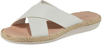 Tommy Bahama Ilidah Crossed-Strap Leather Sandals